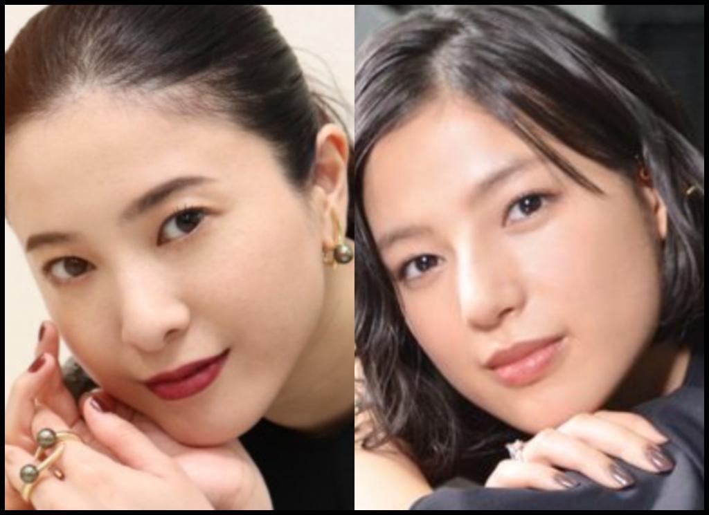 吉高由里子さんと石井杏奈さんの画像