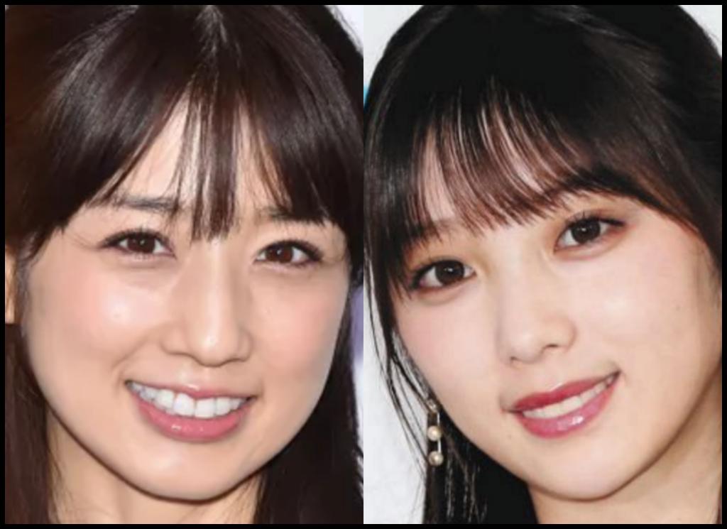 小倉優子さんと与田祐希さんの画像