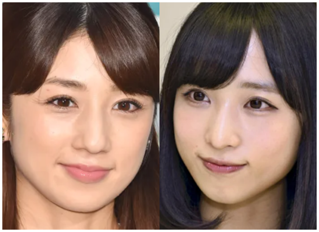 小倉優子さんと小栗有以さんの画像