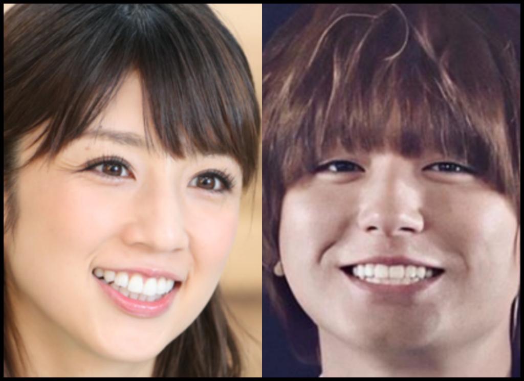 小倉優子さんと伊野尾慧さんの画像