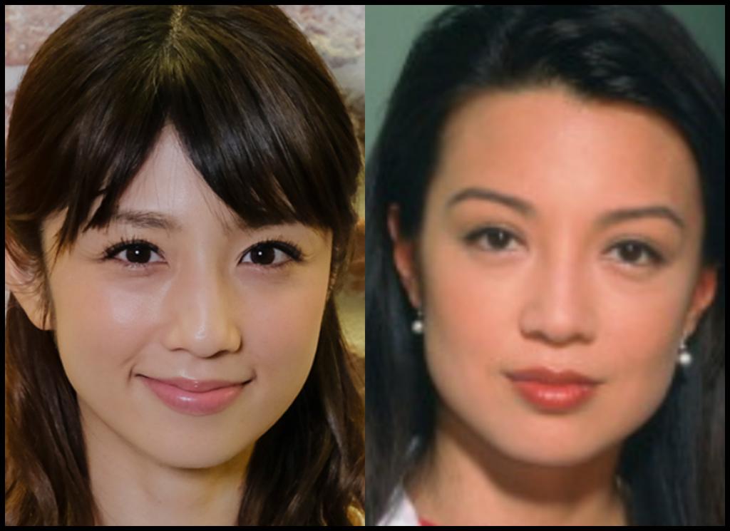 小倉優子さんとミンナ・ウェンさんの画像