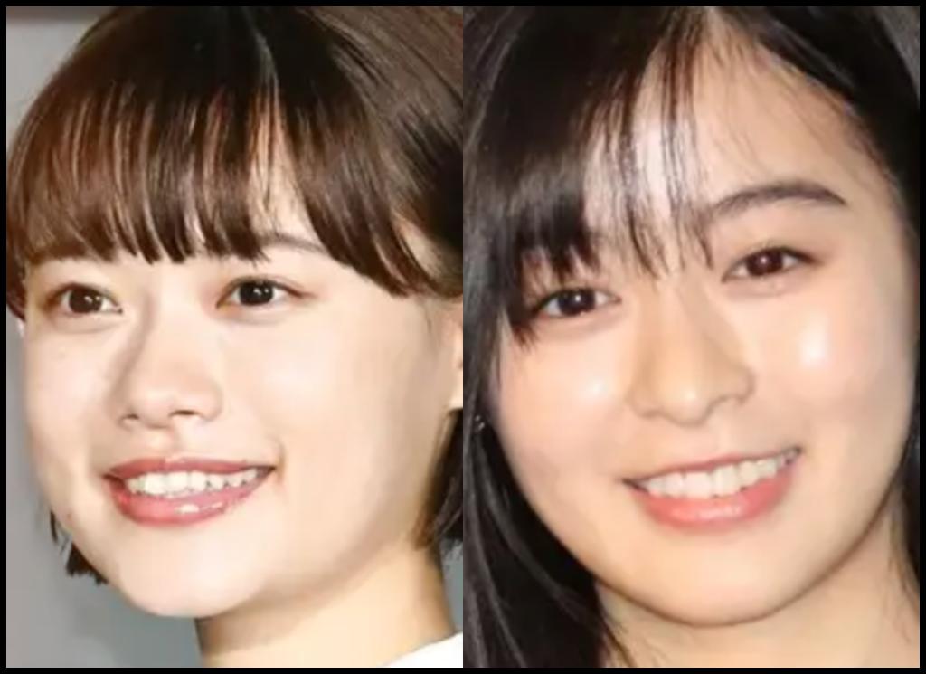 杉咲花さんと森七菜さんの画像