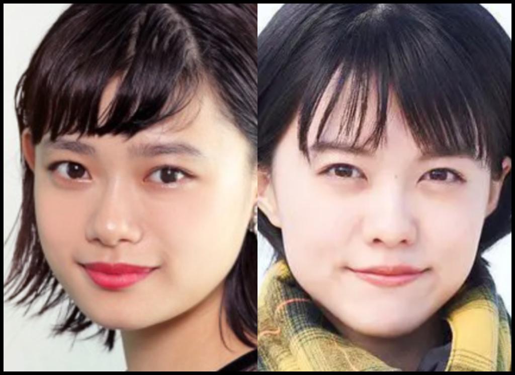 杉咲花さんと志田彩良さんの画像