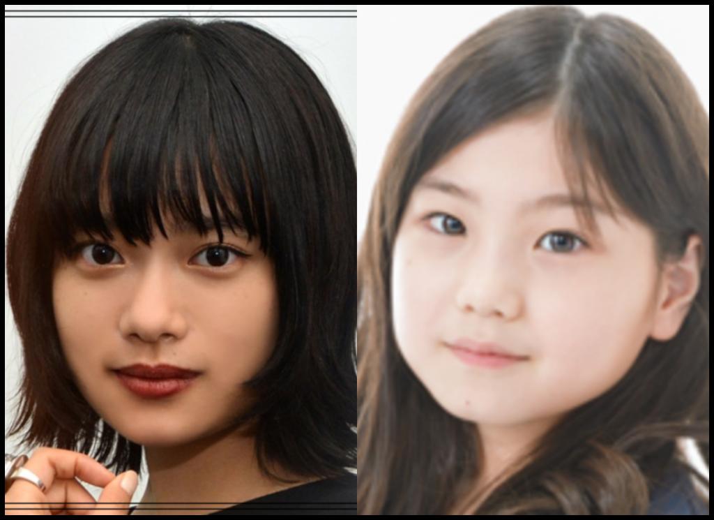 杉咲花さんと毎田暖乃さんの画像