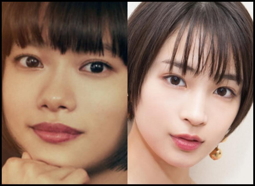 杉咲花さんと広瀬すずさんの画像