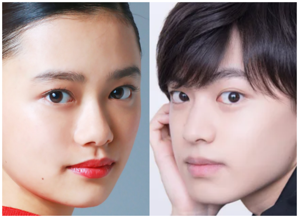 杉咲花さんと上村海成さんの画像