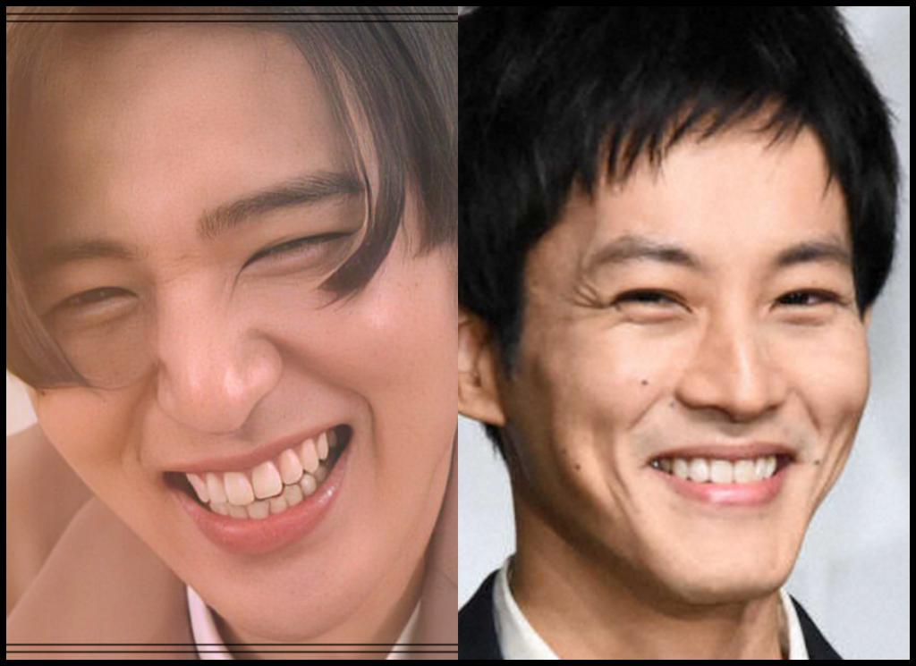 目黒蓮さんと松坂桃李さんの画像
