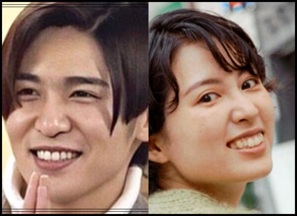 目黒蓮さんと岡奈なな子さんの画像