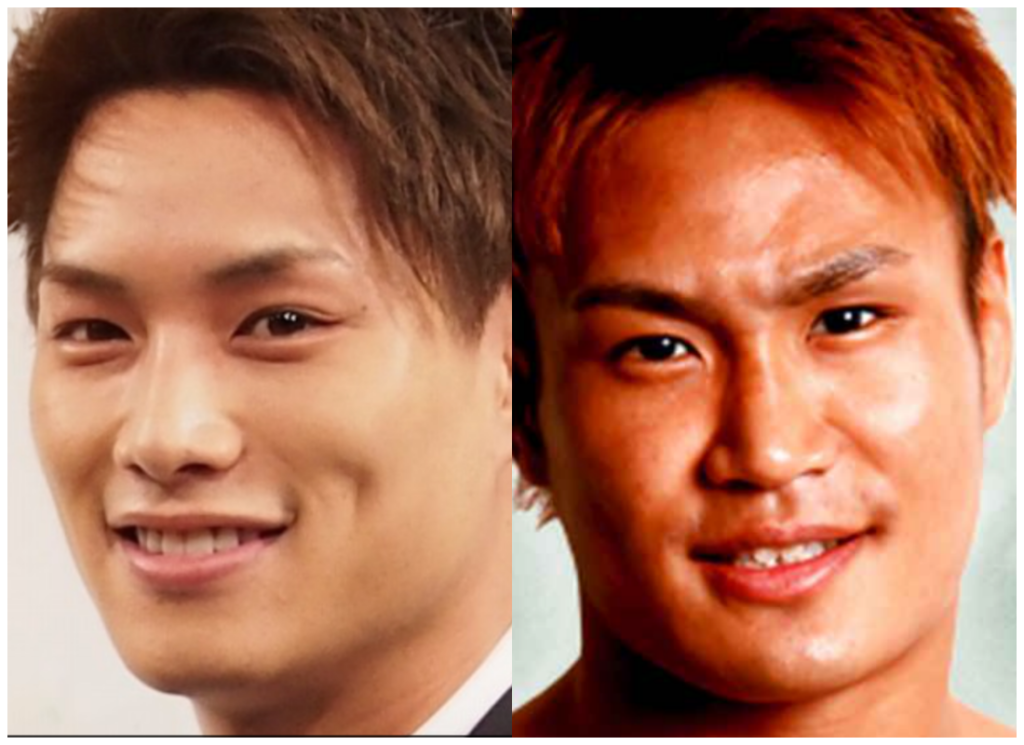 鈴木伸之さんと金太郎選手の画像