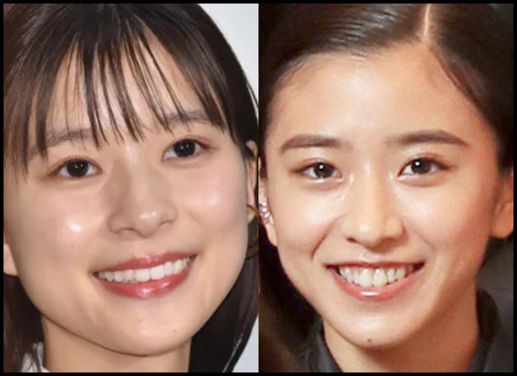 芳根京子さんと黒島結菜さんの画像