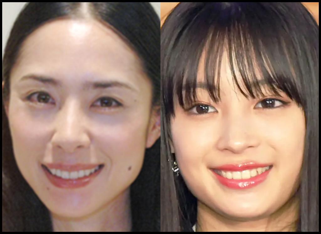 深津絵里さんと広瀬すずさんの画像