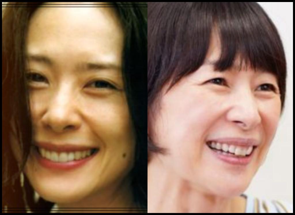 深津絵里さんと西田尚美さんの画像