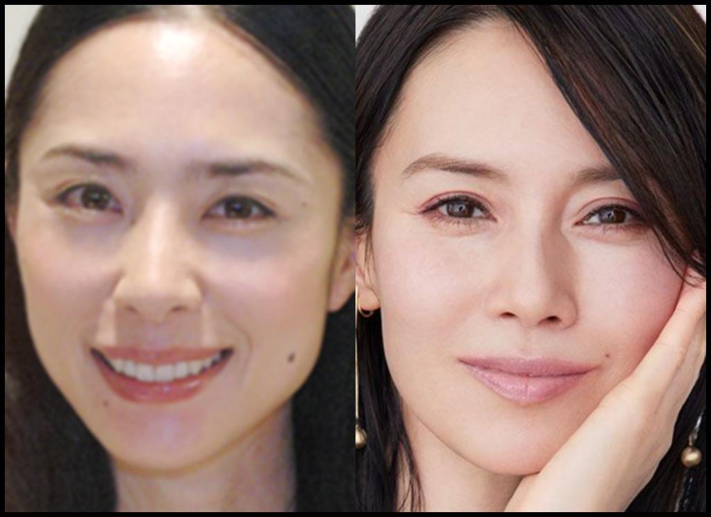 深津絵里さんと中谷美紀さんの画像