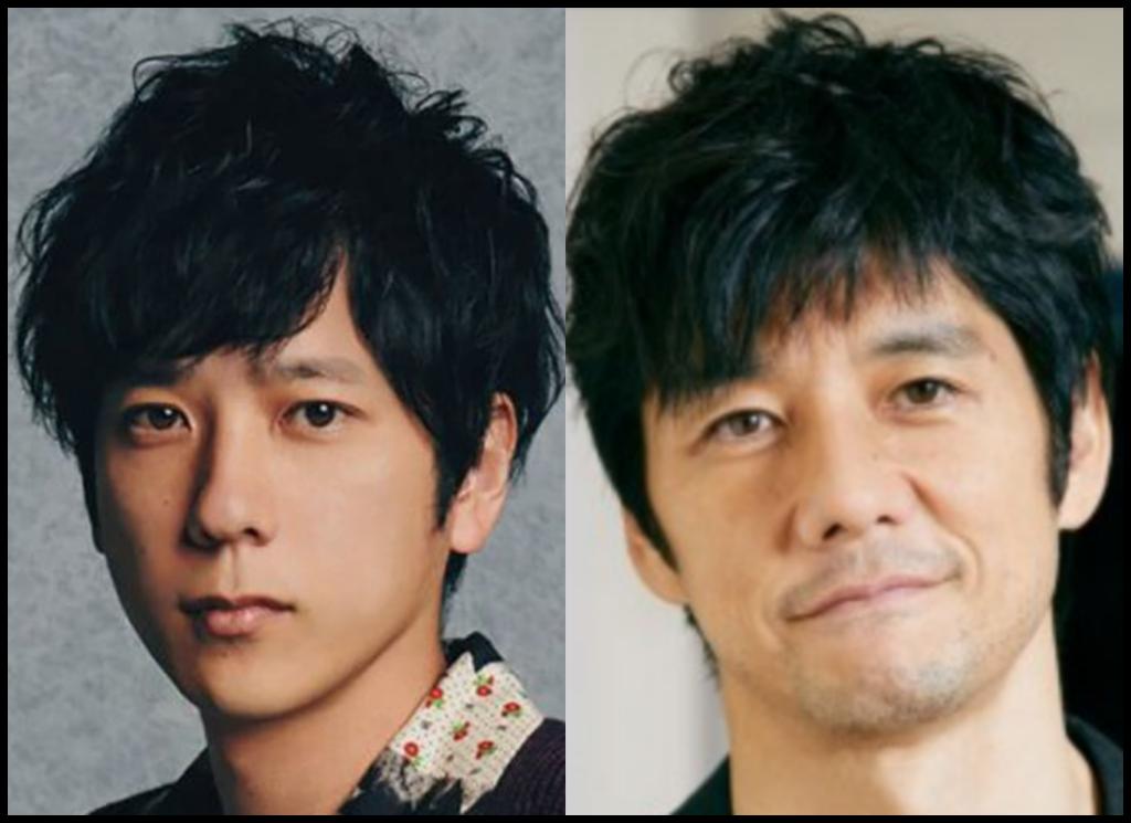 二宮和也さんと西島秀俊さんの画像