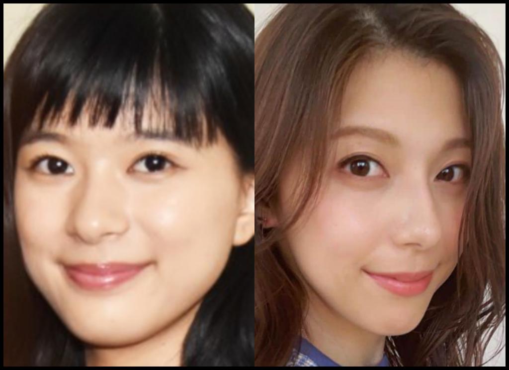 芳根京子さんと上村彩子さんの画像