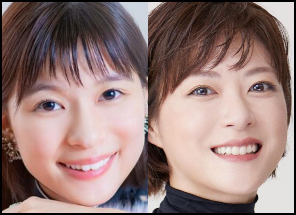 芳根京子さんと上野樹里さんの画像
