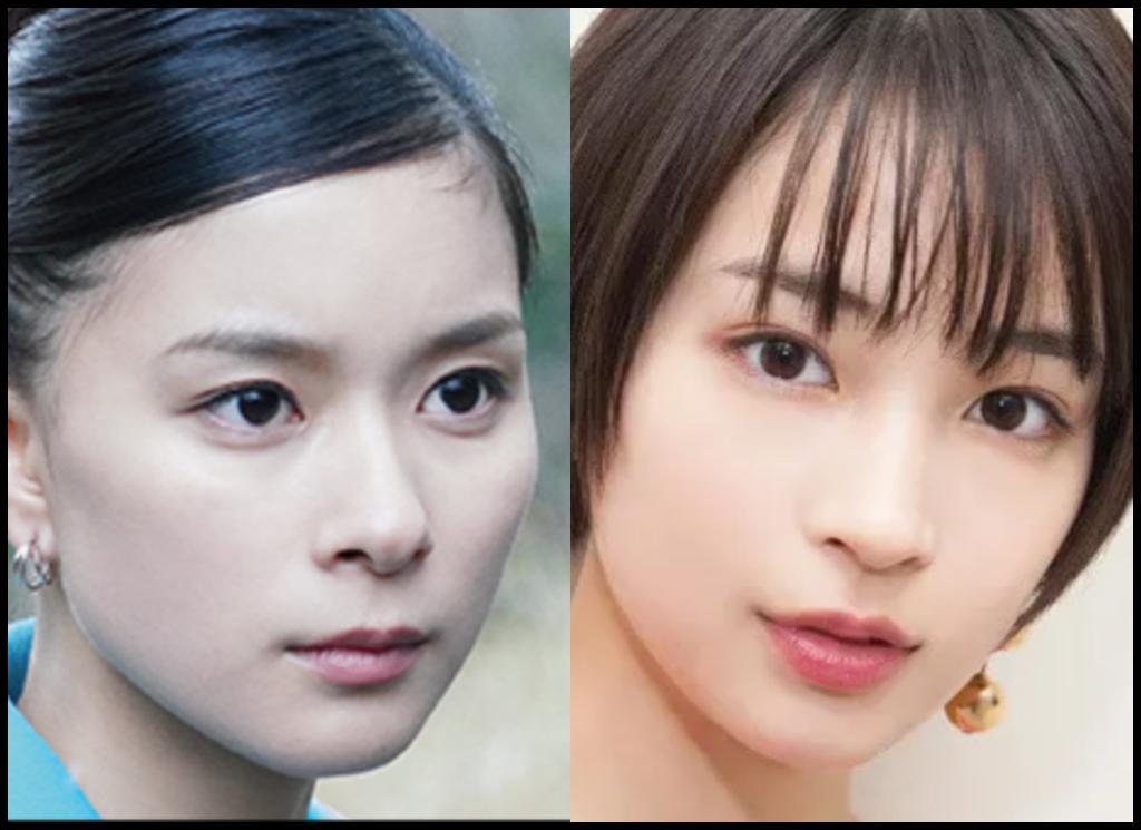 芳根京子さんと広瀬すずさんの画像