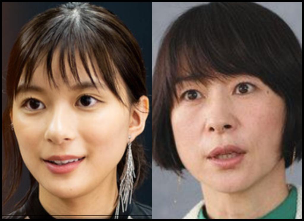 芳根京子さんと西田尚美さんの画像