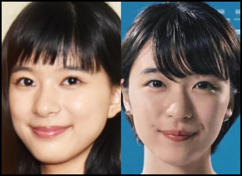 芳根京子さんと鳴海唯さんの画像