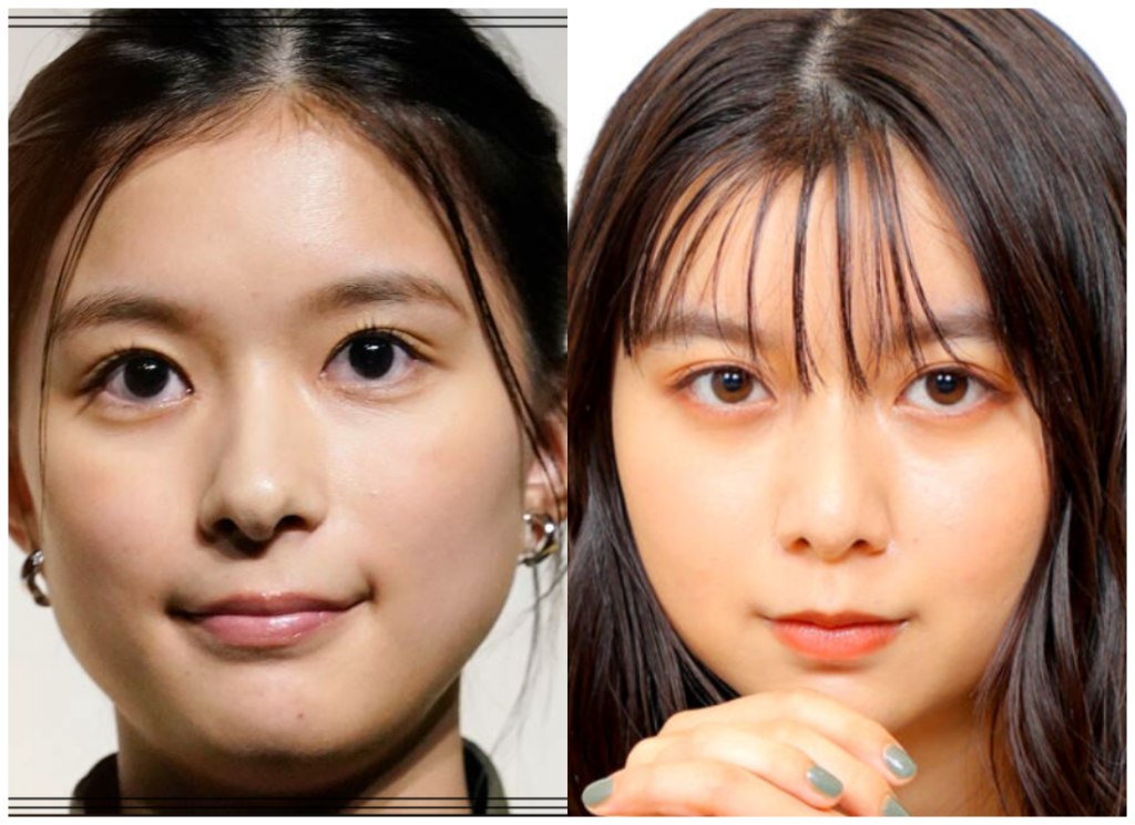 芳根京子さんと上白石萌歌さんの画像