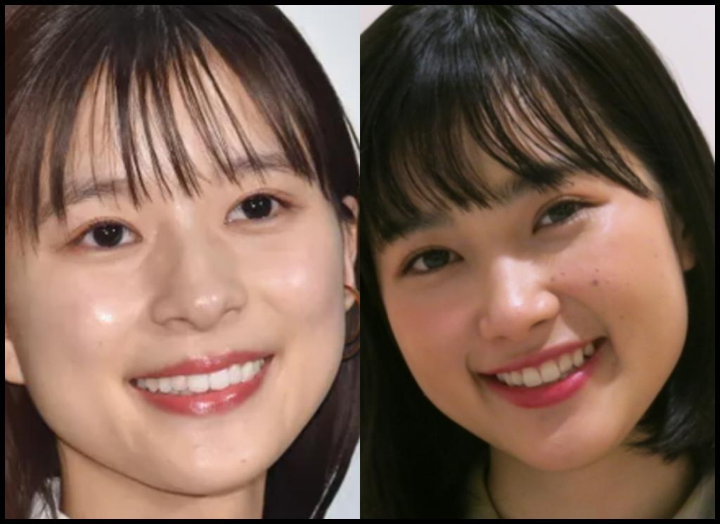 芳根京子さんと井頭愛海さんの画像