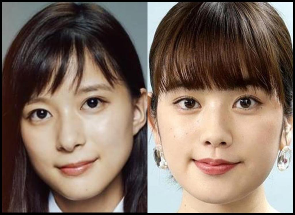 芳根京子さんと筧美和子さんの画像