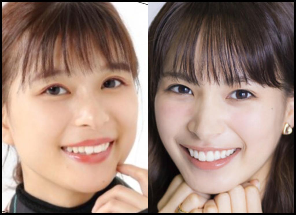 芳根京子さんと関水渚さんの画像