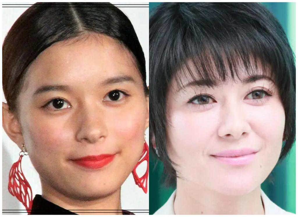 芳根京子さんと真木よう子さんの画像