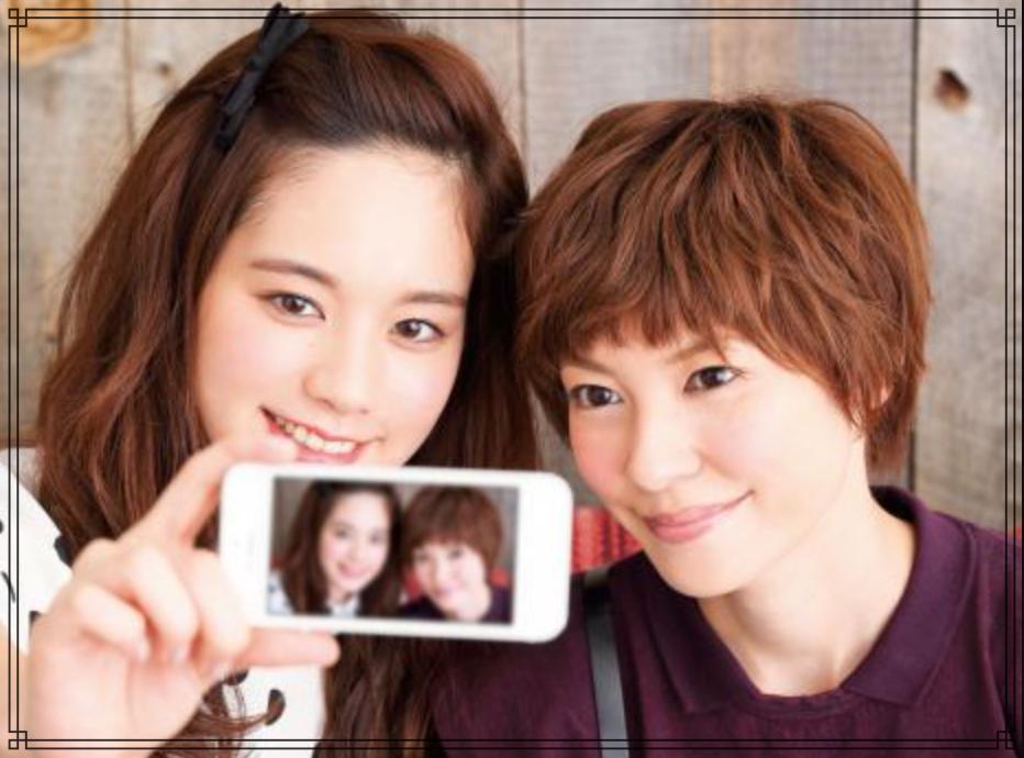 住岡梨奈さんと筧美和子さんの画像