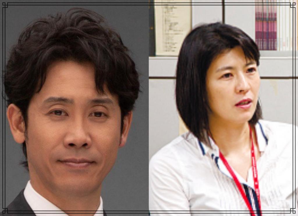 大泉洋さんと中島久美子さんの画像