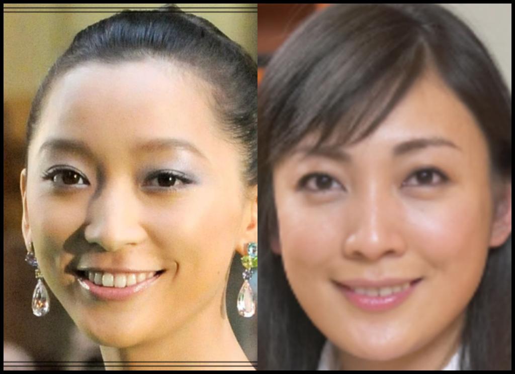 杏さんと田中美里さんの画像