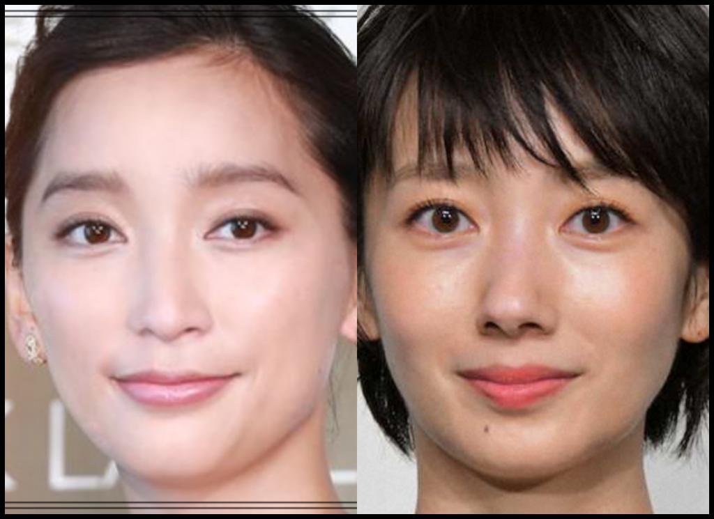杏さんと波瑠さんの画像