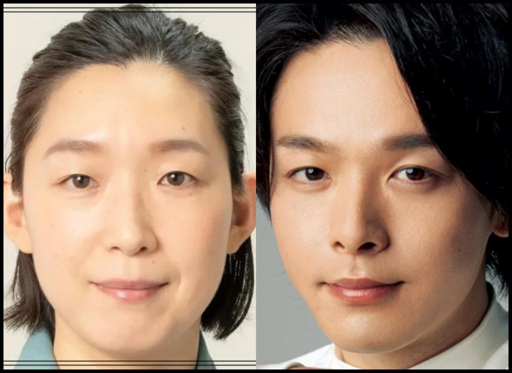 江口のりこさんと中村倫也さんの画像