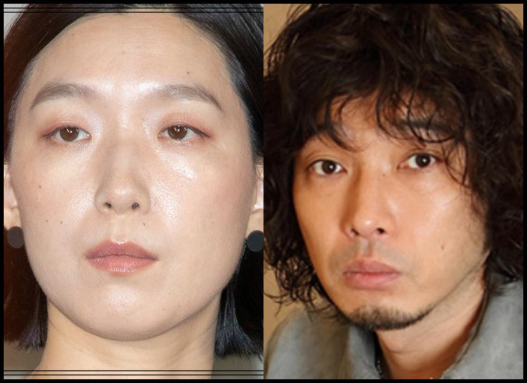 江口のりこさんと斉藤和義さんの画像