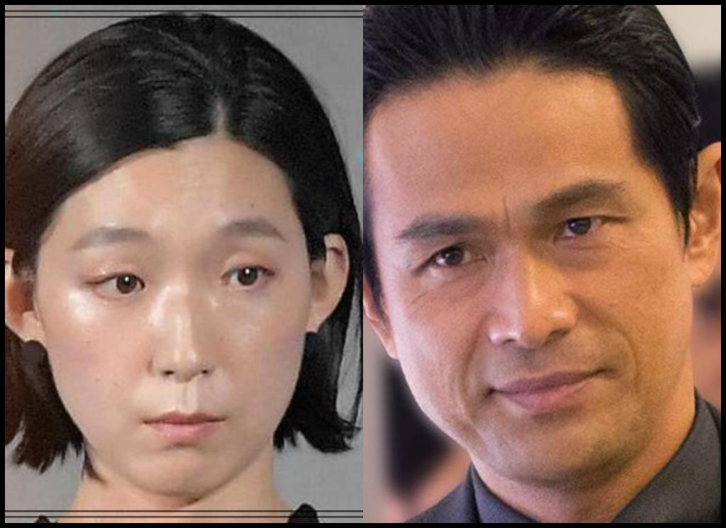 江口のりこさんと江口洋介さんの画像