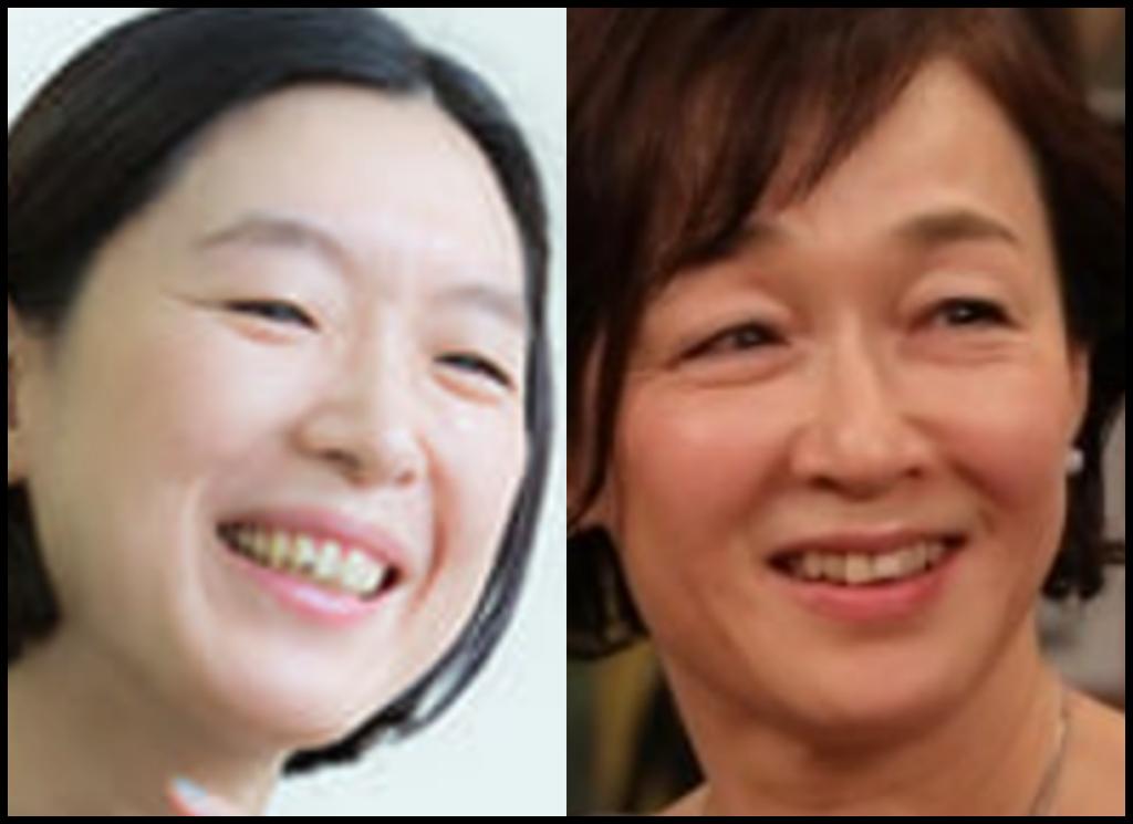 江口のりこさんとキムラ緑子さんの画像