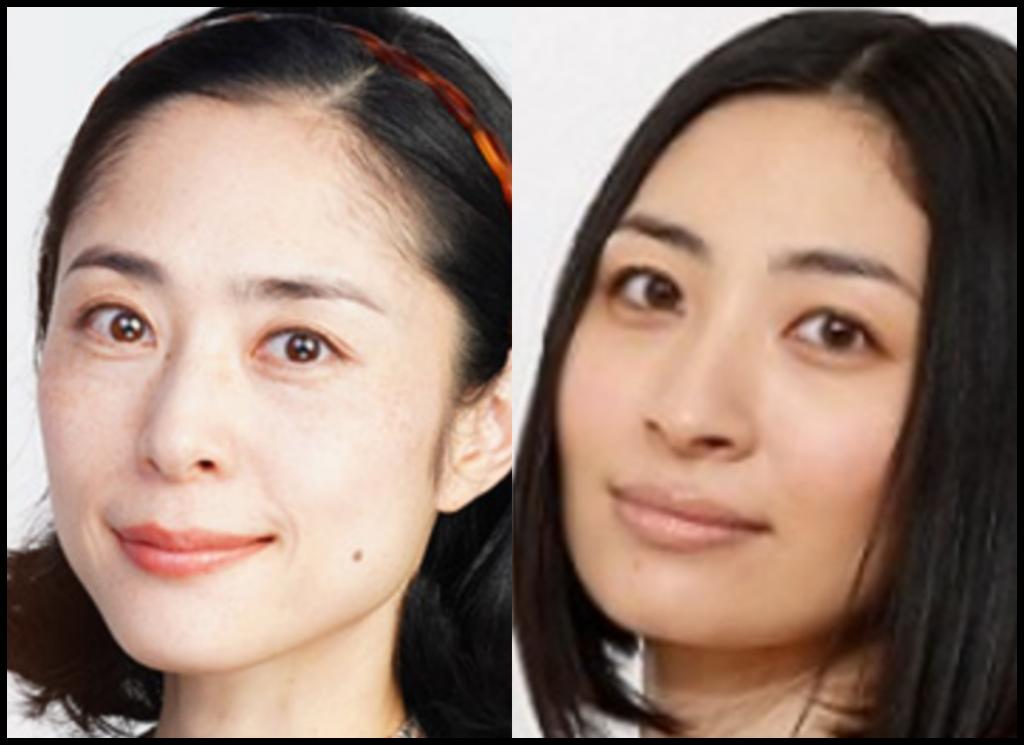 深津絵里さんと坂本真綾さんの画像