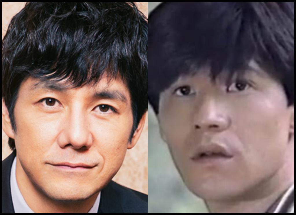 西島秀俊さんと内村光良さんの画像
