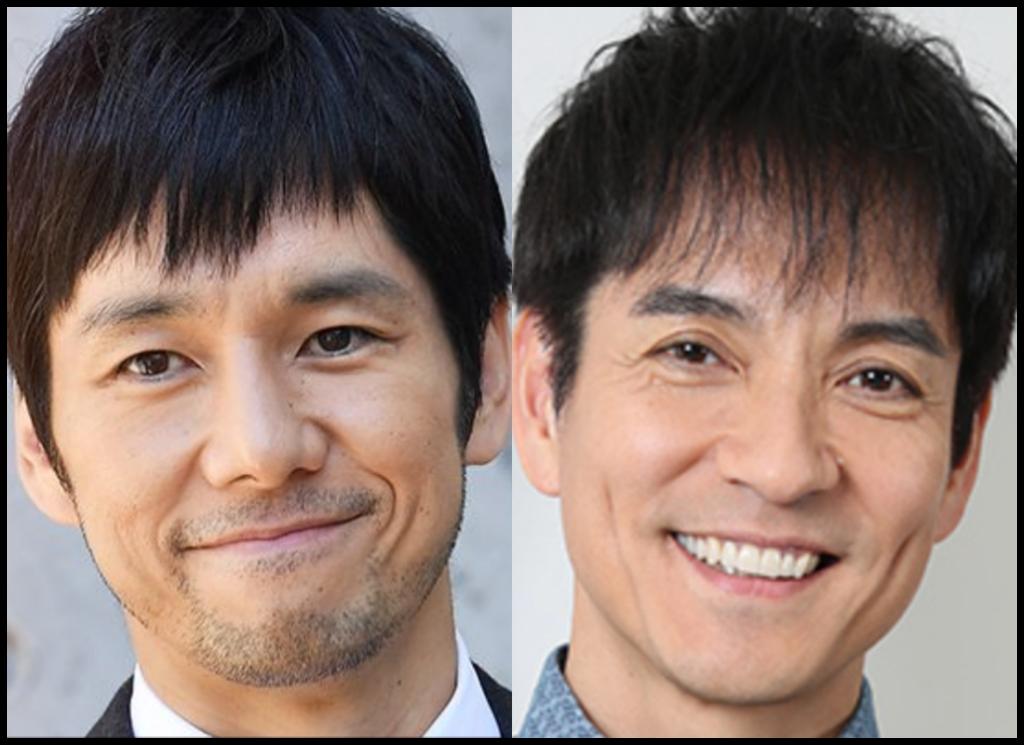 西島秀俊さんと沢村一樹さんの画像
