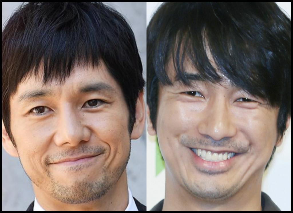 西島秀俊さんと眞島秀和さんの画像
