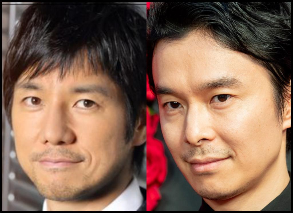 西島秀俊さんと長谷川博己さんの画像